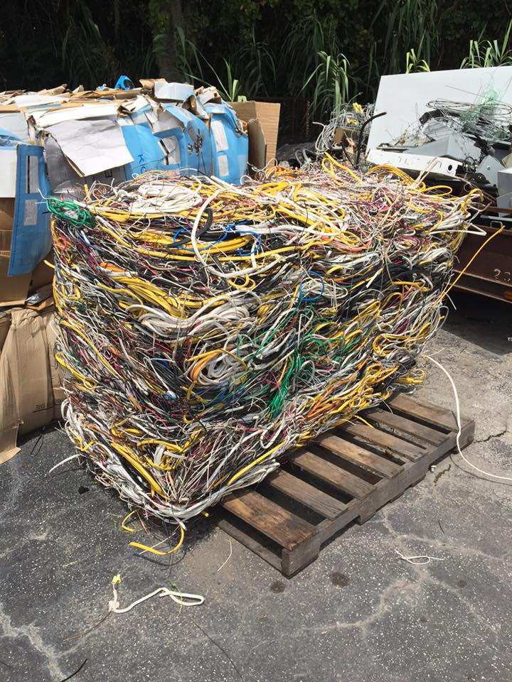 Bundle of Copper Wires
