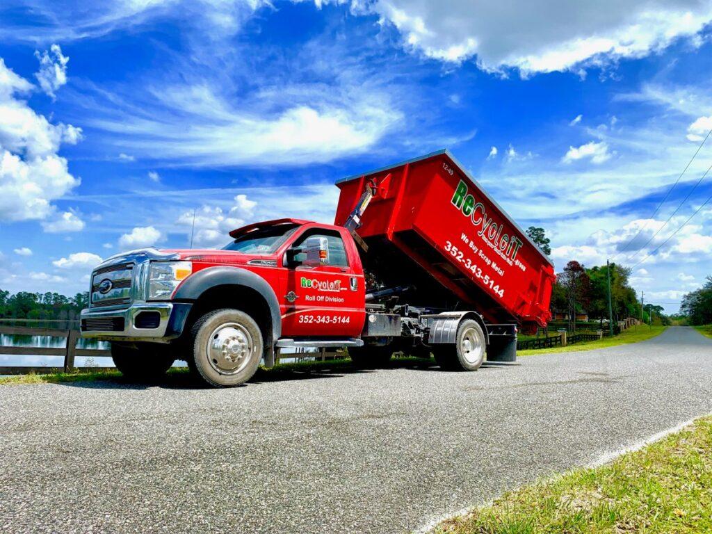 RecycleIT Roll off Dumpster